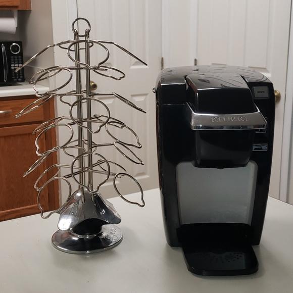 Keurig coffee maker plus pod carousel